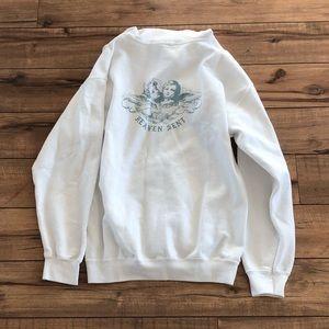 Brandy Melville Tops - Brandy Melville Carla heaven sent hoodie